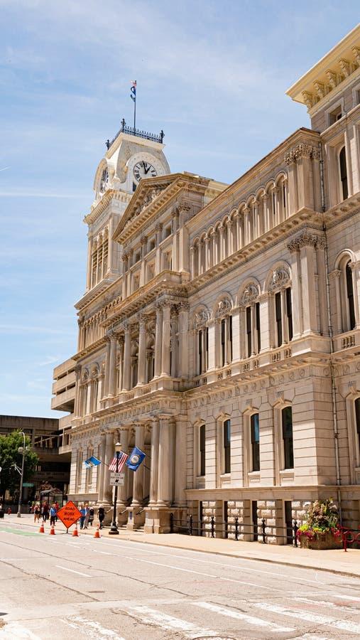 Hôtel de Ville de Louisville - LOUISVILLE LES ETATS-UNIS - 14 JUIN 2019 images stock