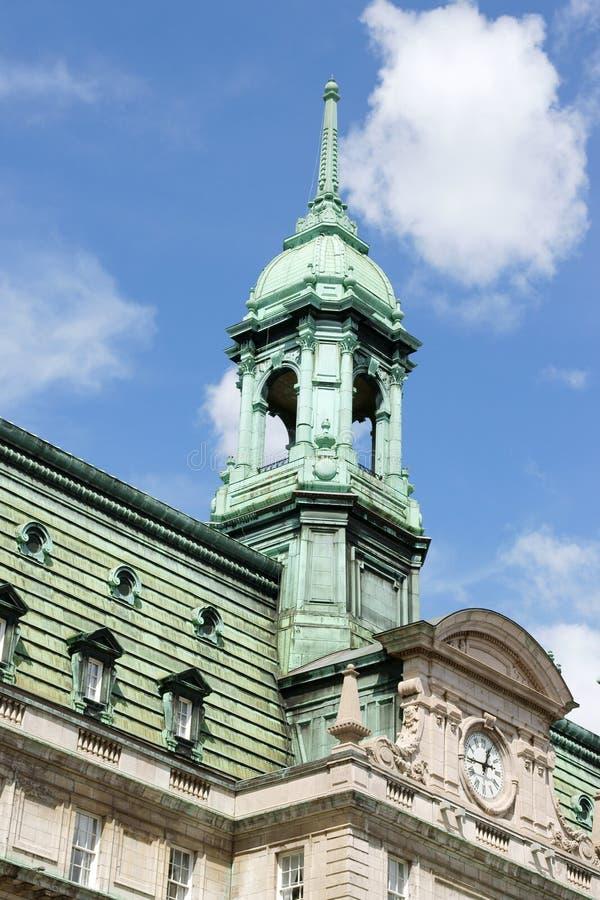 hôtel de ville Montréal vieux images libres de droits