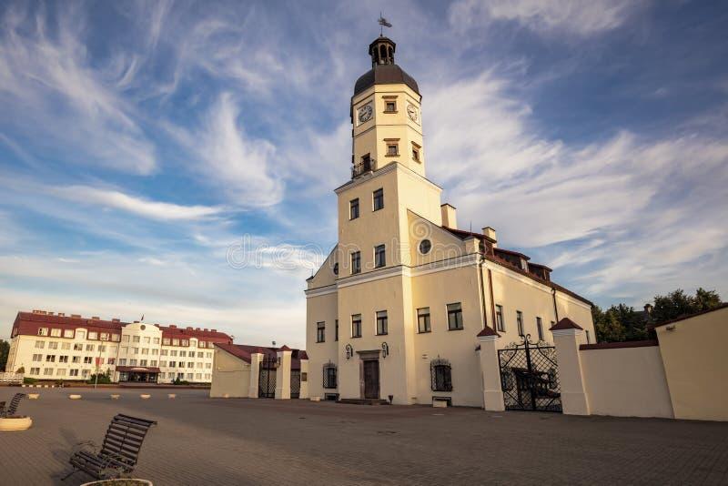Hôtel de ville de Nesvizh photo libre de droits