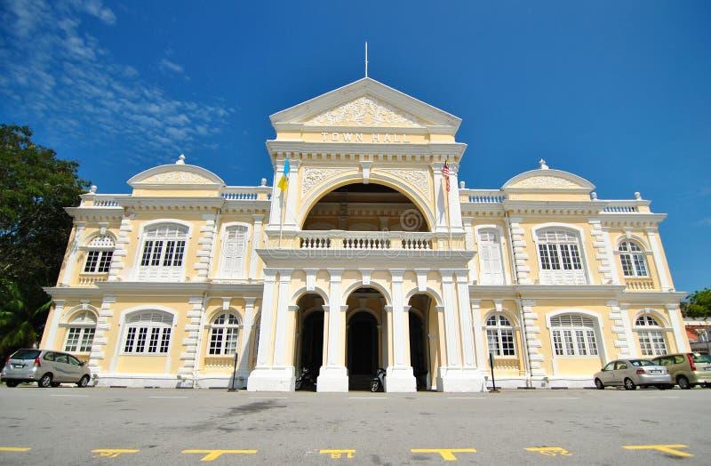 Hôtel de ville de Penang images libres de droits