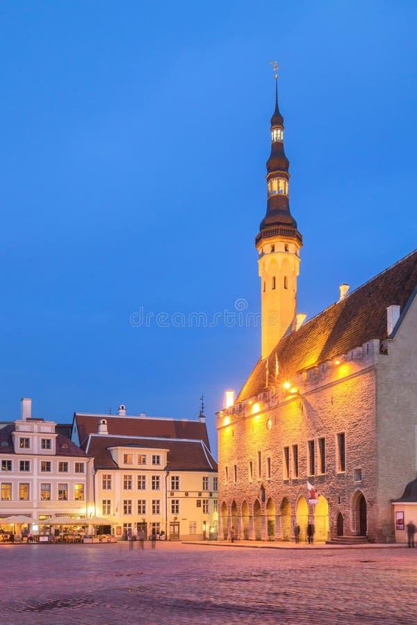 Hôtel de ville de Tallinn photos stock