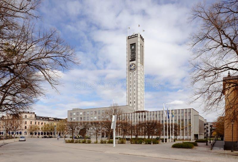 Hôtel de ville de Vasteras images libres de droits