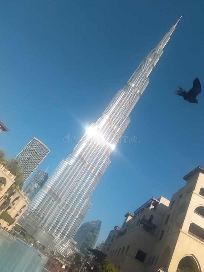 Hôtel Dubaï de Burj Khalifa photos stock