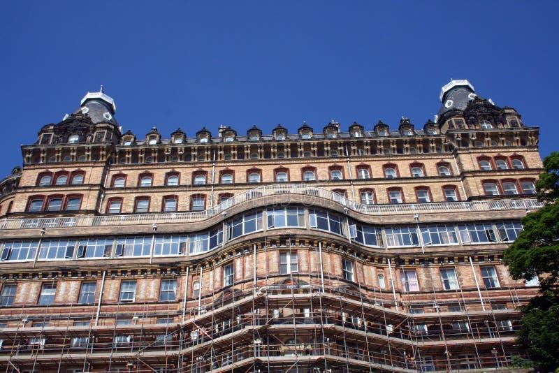 Hôtel gothique grand photo libre de droits