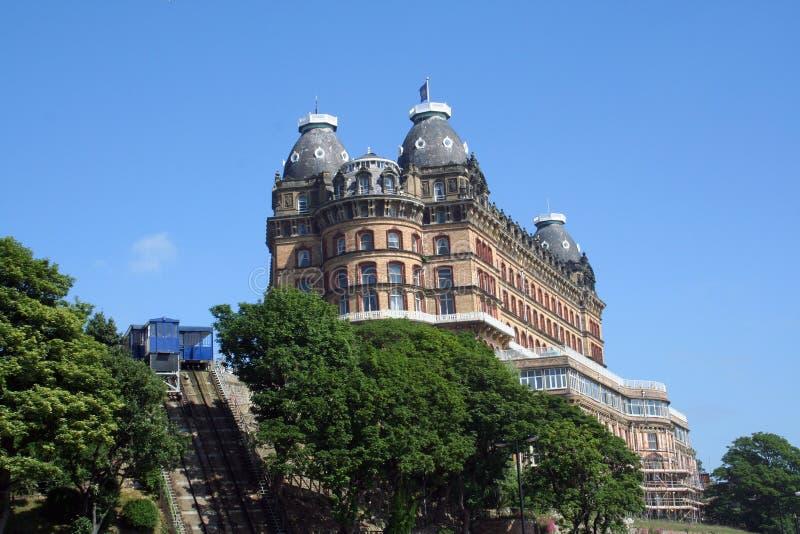 Hôtel gothique grand image libre de droits