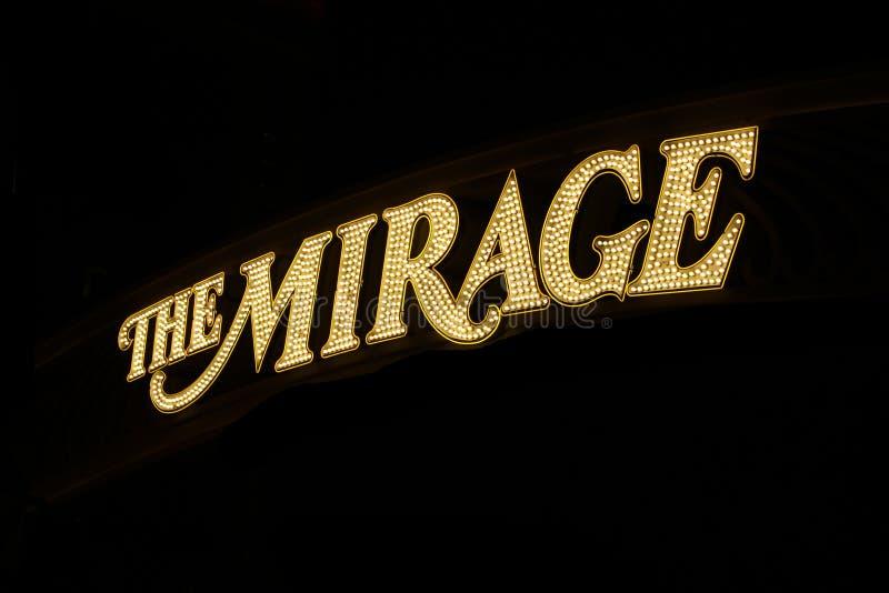 Hôtel Las Vegas de mirage photo libre de droits