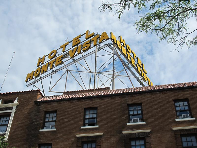 Hôtel monte vista à Flagstaff Arizona photo libre de droits