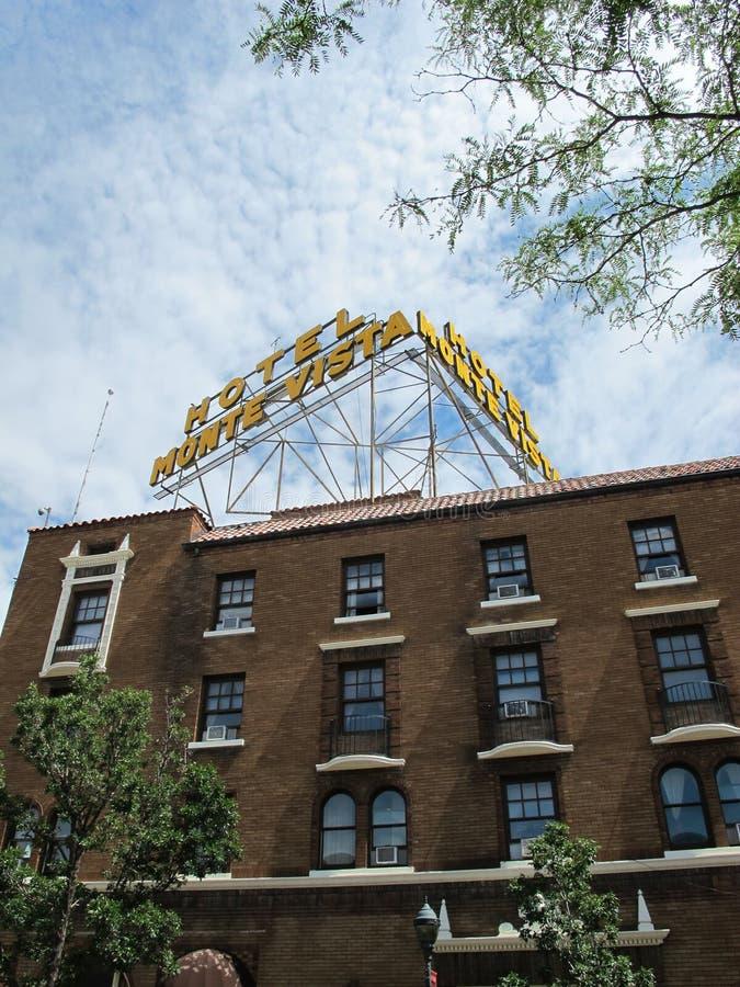 Hôtel monte vista à Flagstaff Arizona images stock