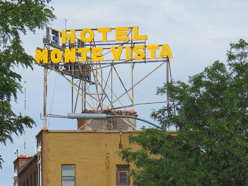 Hôtel monte vista à Flagstaff Arizona images libres de droits