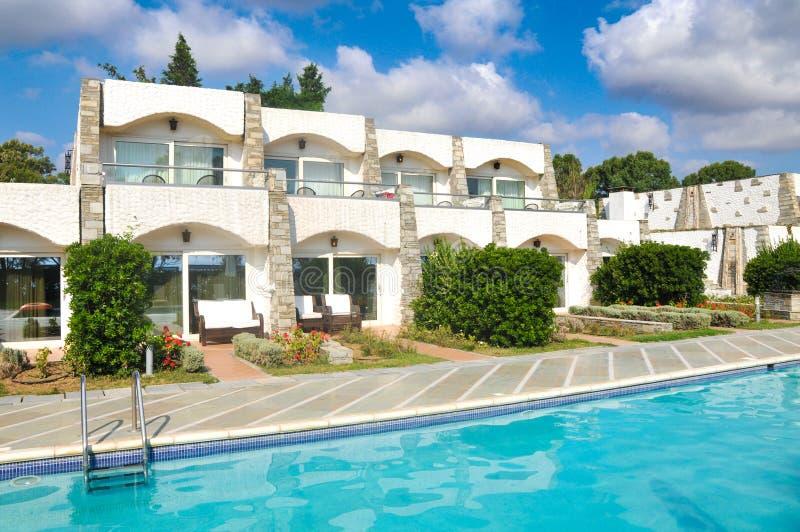 Hôtels de luxe en Grèce photos libres de droits