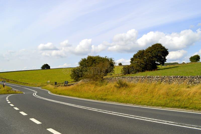 Höchstbezirks-Nationalpark in Derbyshire stockbilder