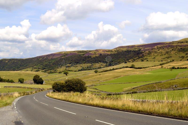 Höchstbezirks-Nationalpark in Derbyshire lizenzfreies stockfoto