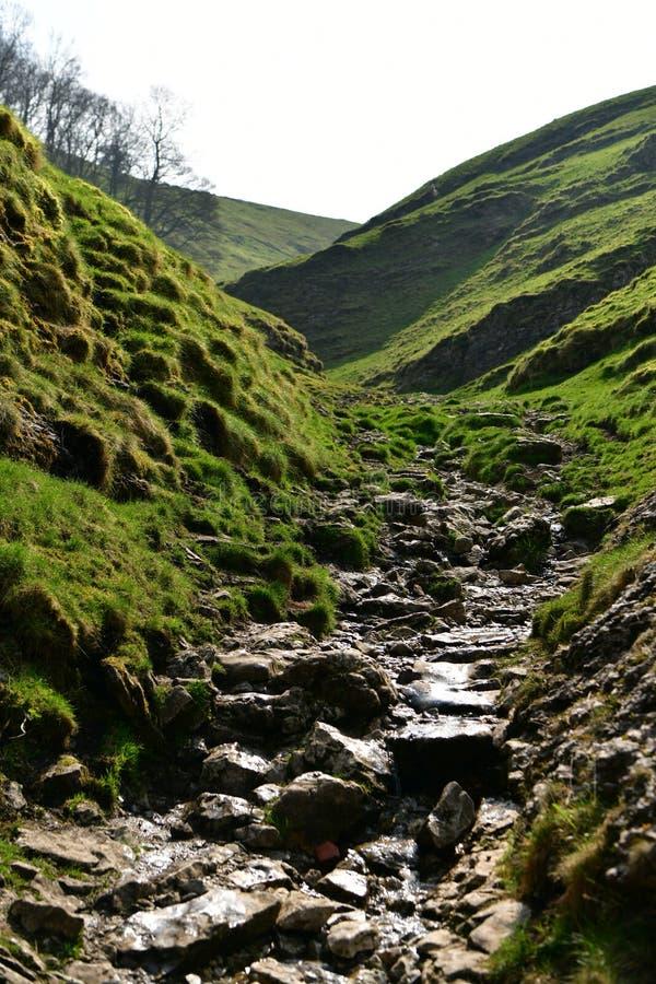 Höchstbezirks-Nationalpark in Großbritannien stockbilder