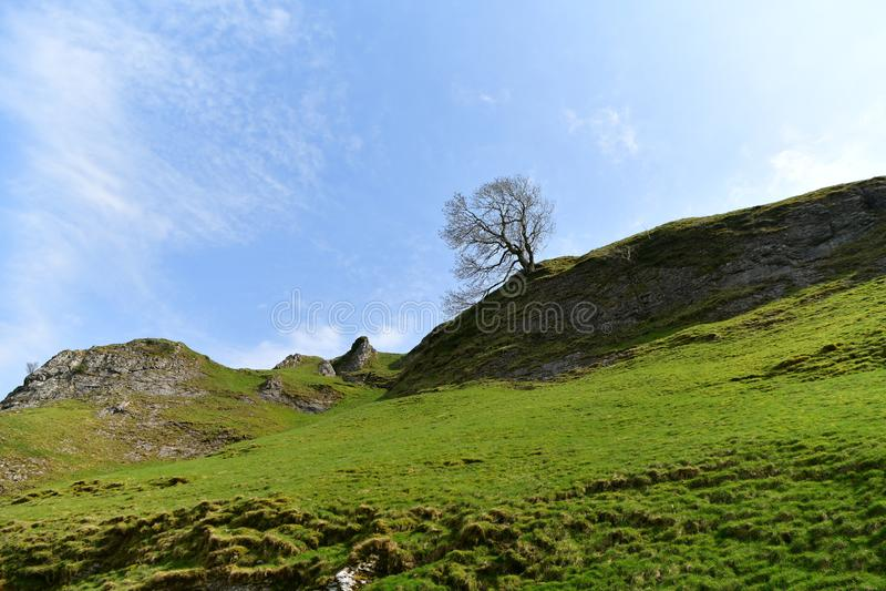 Höchstbezirks-Nationalpark in Großbritannien stockfotografie