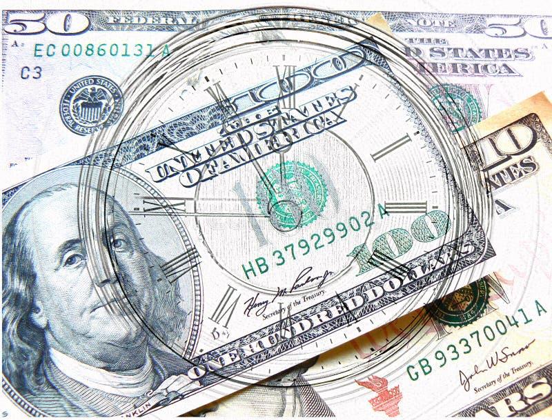 Höchste Zeit und Geld stockfotografie