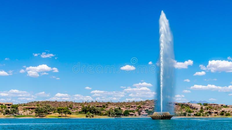 Höchster Brunnen in den US lizenzfreie stockfotografie