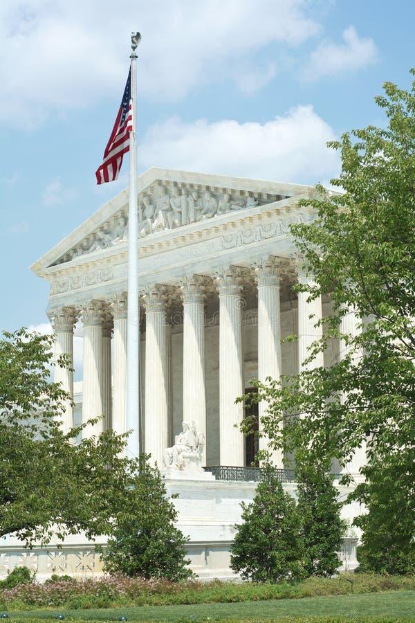 Höchstes Gericht der Vereinigten Staaten stockfoto