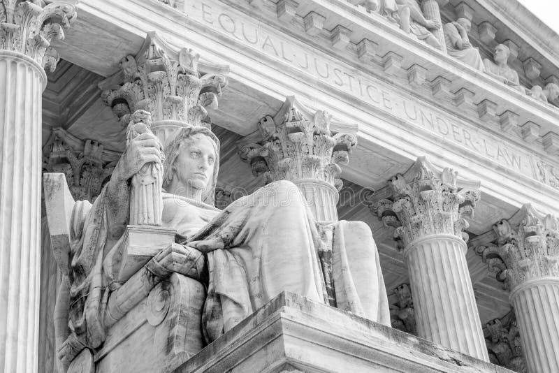 Höchstes Gericht Washington DC stockbilder