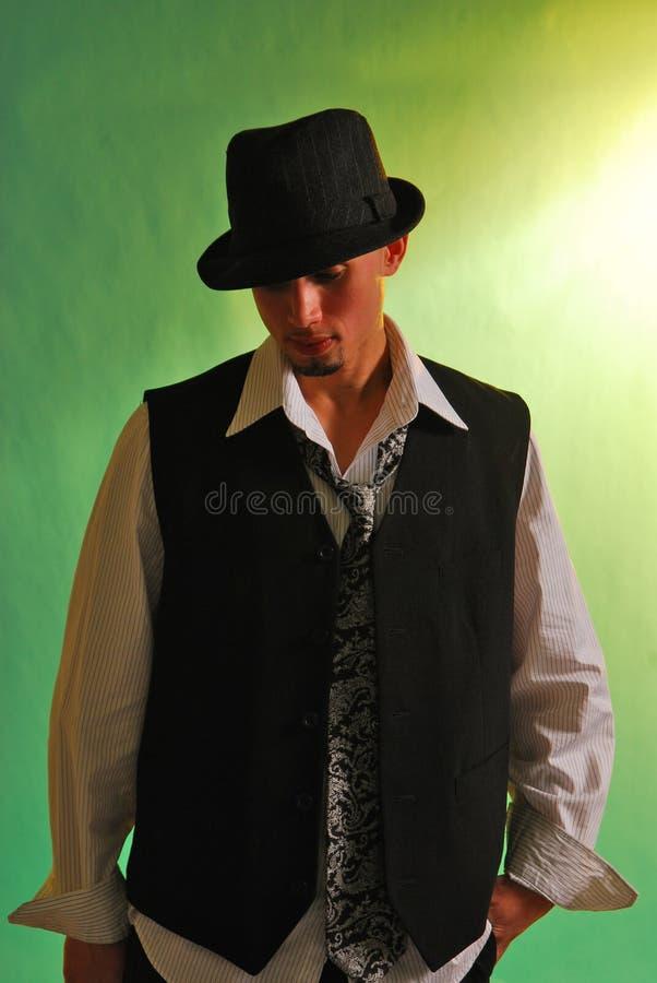 Höflicher Mann stockfoto