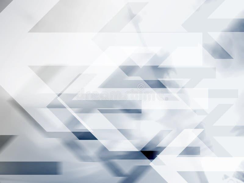 hög abstrakt bakgrund - tech royaltyfri illustrationer