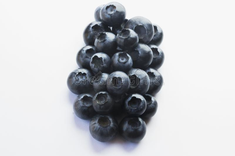Hög av blåbär royaltyfri foto