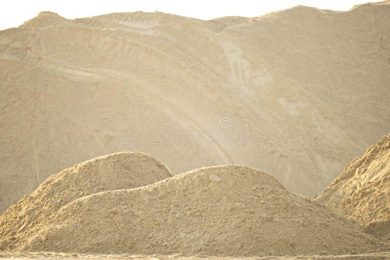 Hög av sand arkivfoton