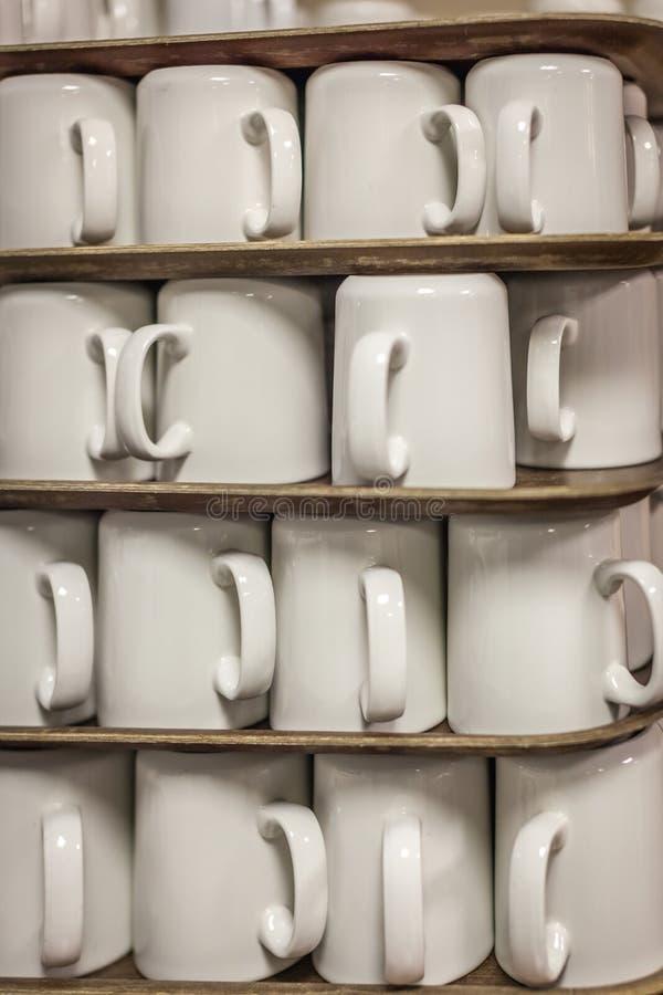 Hög av tvättade koppar royaltyfri bild