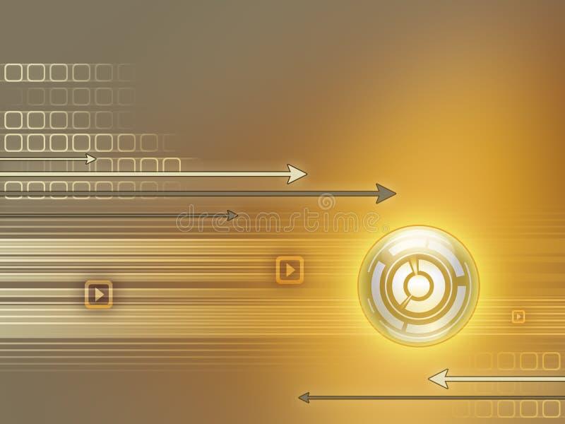 hög bakgrund - teknologi vektor illustrationer