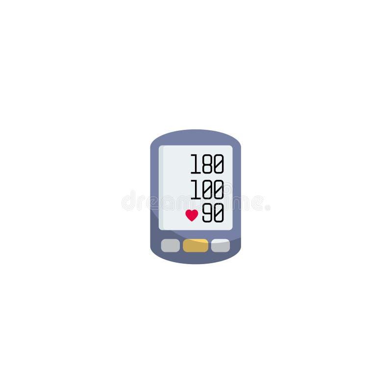 Hög blodtryckbegreppsvektor, royaltyfri illustrationer