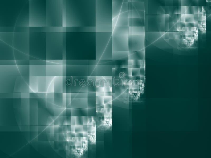 hög design - modern fyrkant för tech vektor illustrationer