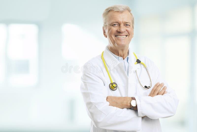 Hög doktor fotografering för bildbyråer