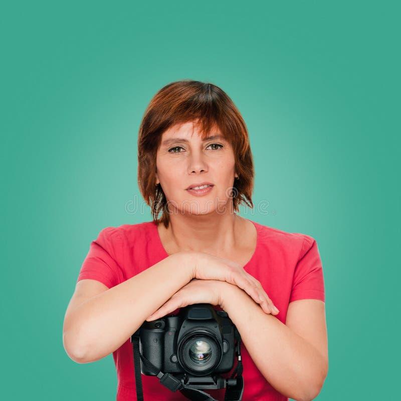 Hög fotograf arkivfoton