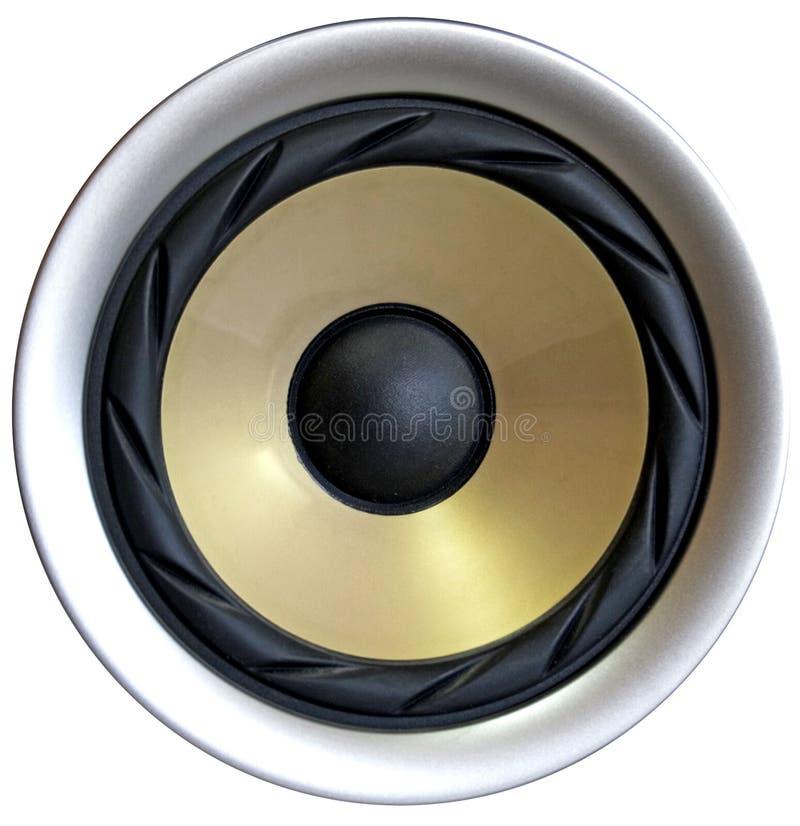 hög högtalare arkivbild