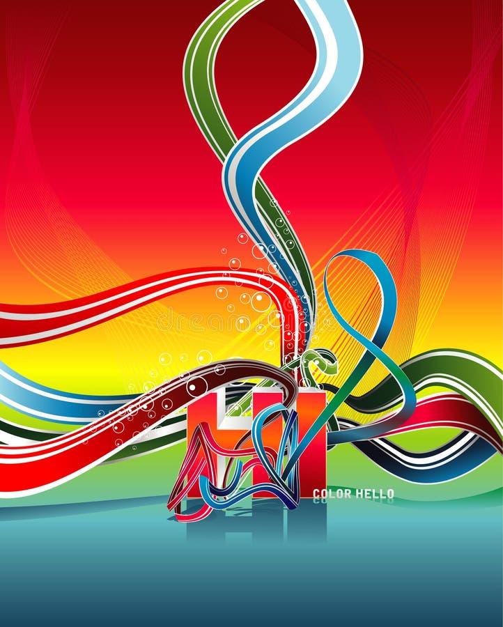 hög illustration stock illustrationer