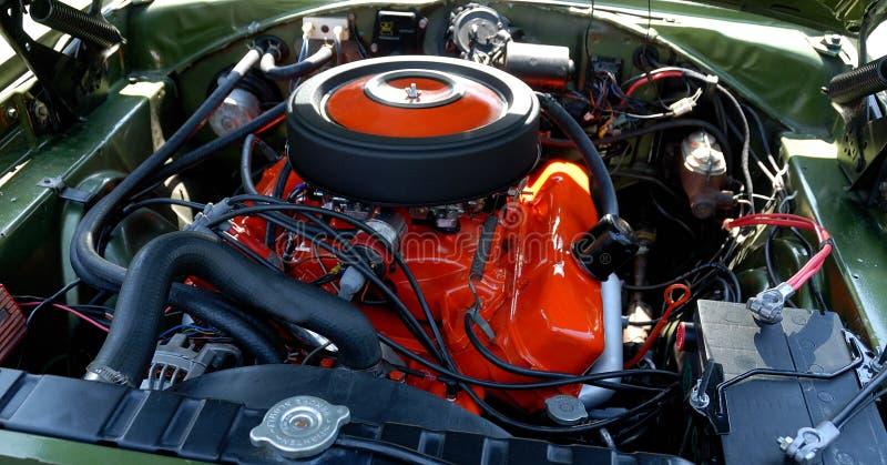 hög kapacitet för bilmotor royaltyfri bild