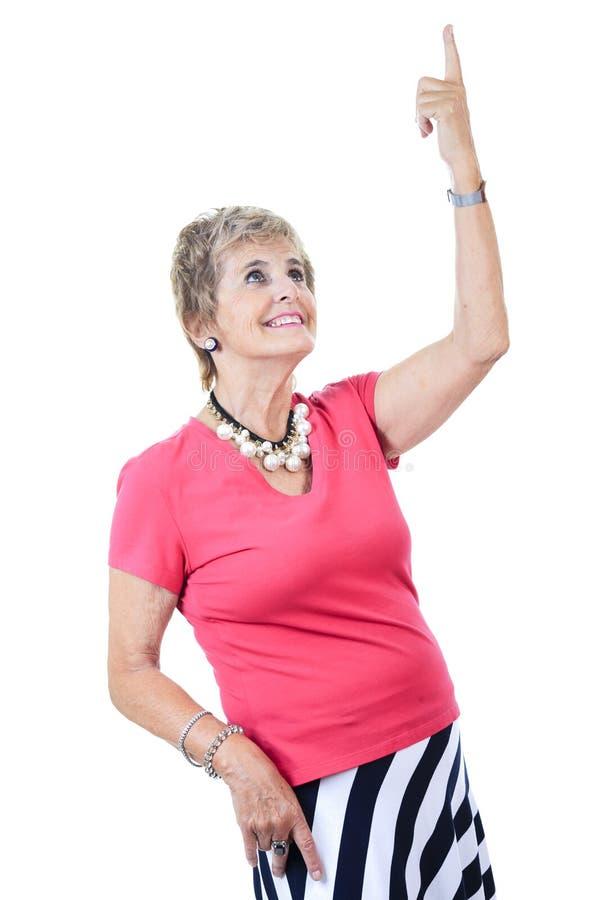 Hög kvinnavitbakgrund arkivfoto