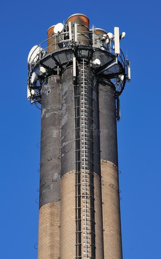 Hög lampglas av enenergi växt arkivfoton