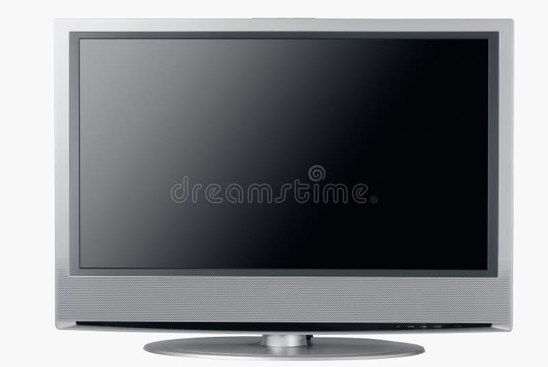hög lcd-tv för slut arkivbilder