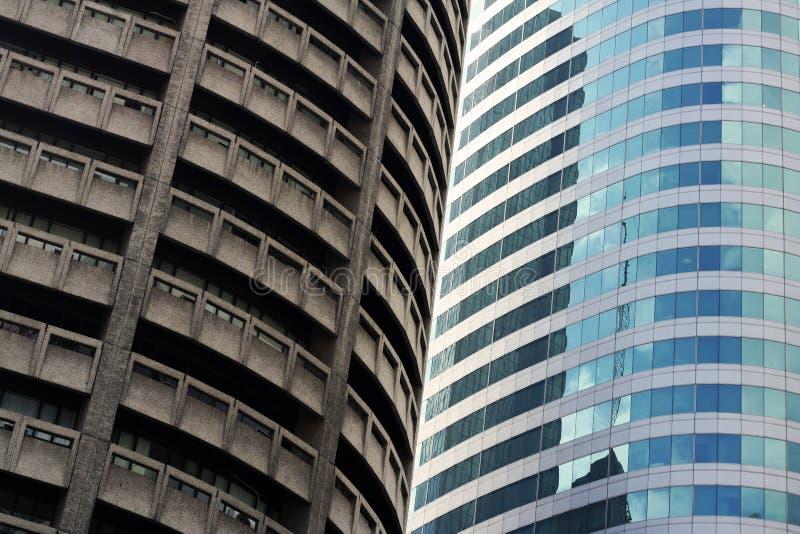 hög manila för arkitekturcityland stigning royaltyfri foto