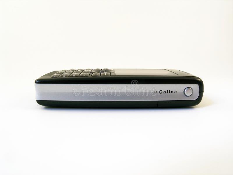 hög mobil sikt för telefonsidotech arkivfoton