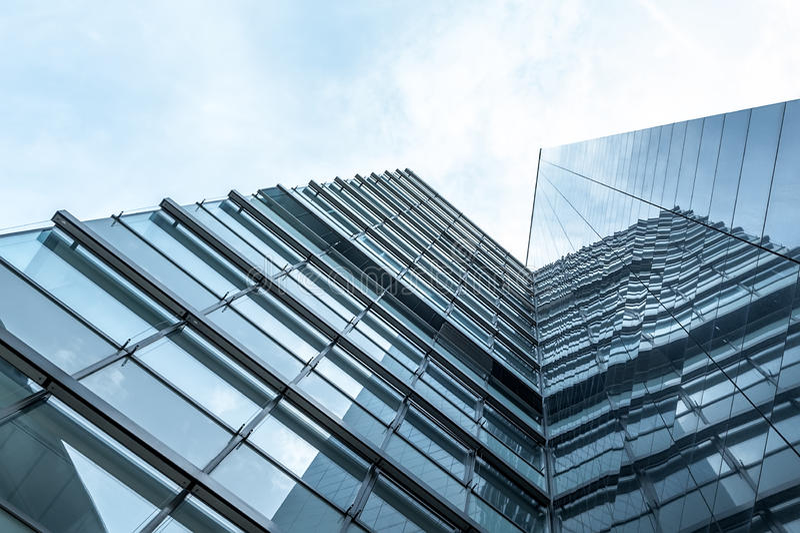 hög modern skyskrapa för byggnadsaffär arkivfoton