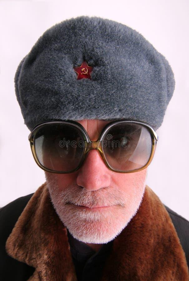 hög soldat för ryss arkivbilder
