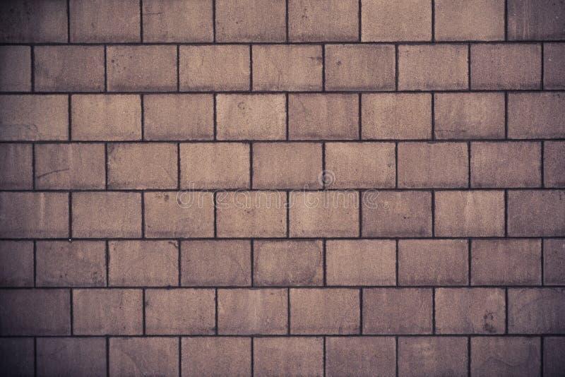 Hög textur för vägg för upplösningskrämtegelsten arkivbild