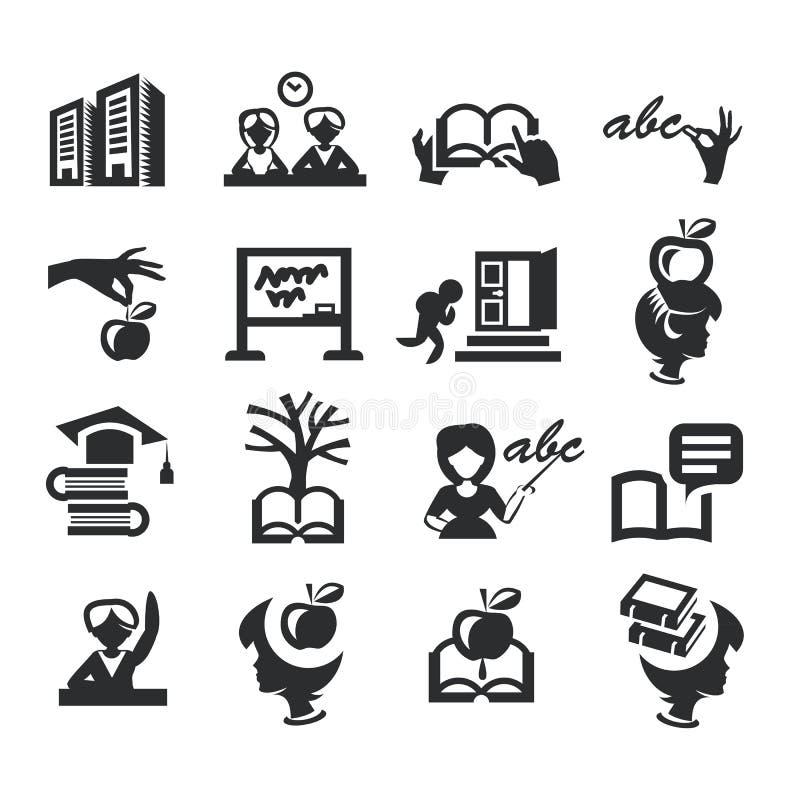 Hög utbildning stock illustrationer