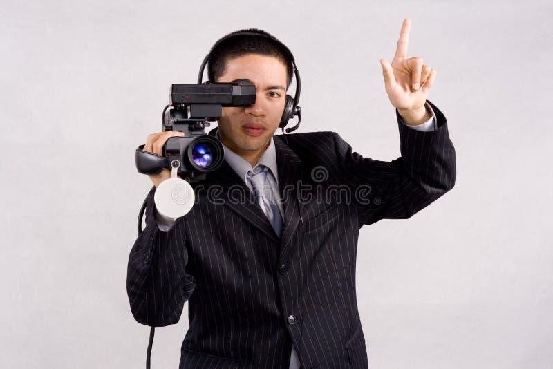 hög videocamera för definition arkivfoton