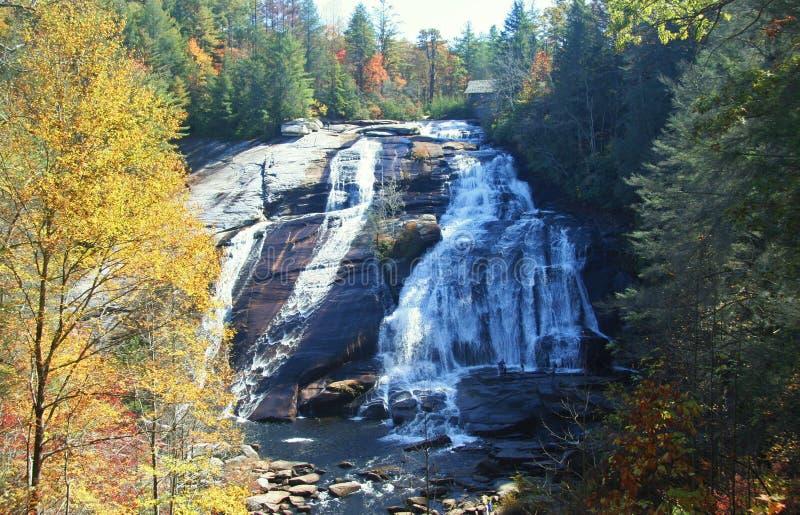 höga falls royaltyfri fotografi