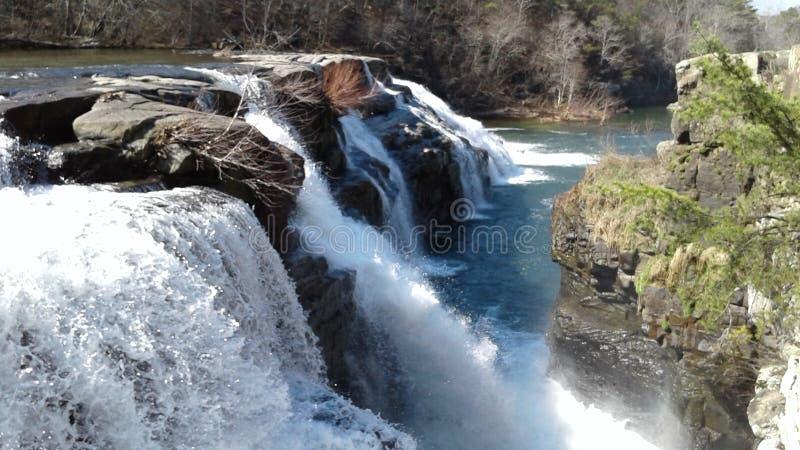 höga falls royaltyfria foton
