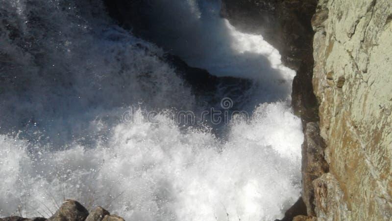 höga falls royaltyfri bild