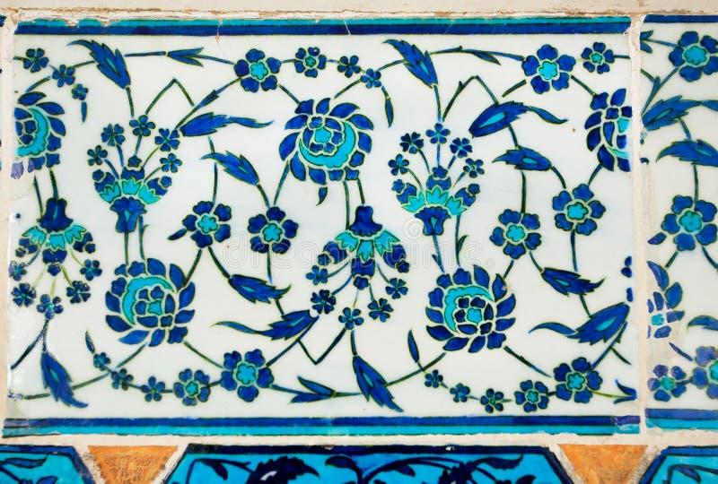 Högkvalitativ krukmakeri i ottomanvälde royaltyfri foto