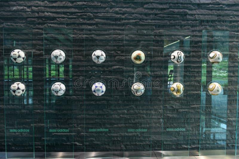 Högkvarter av FIFA på Zurich på Schweiz royaltyfria bilder